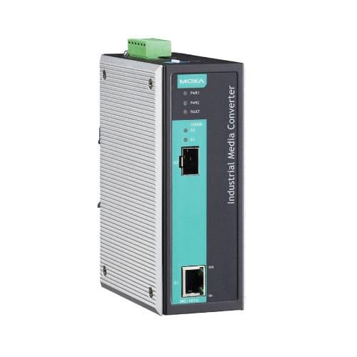 Moxa IMC-101G - Convertisseur Gigabit Ethernet vers fibre optique