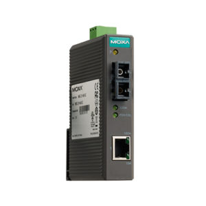 Moxa IMC-21-S-SC - Convertisseur Ethernet vers fibre optique