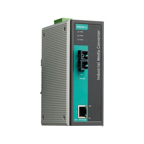 Moxa IMC-101-S-SC-IEX - Convertisseur Ethernet vers fibre optique