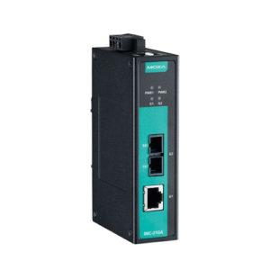 Moxa IMC-21GA-LX-SC - Convertisseur Gigabit Ethernet