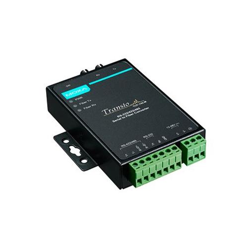 Moxa TCF-142-S-ST - Convertisseur série vers fibre optique