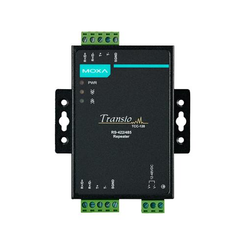 Moxa TCC-120/120I - Convertisseur et répéteurs série RS-422/485
