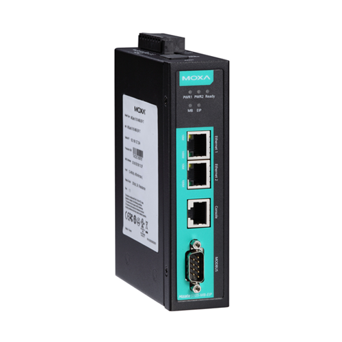 Moxa MGate 5105-MB-EIP - Passerelle Modbus RTU/ASCII/TCP vers EtherNet/IP