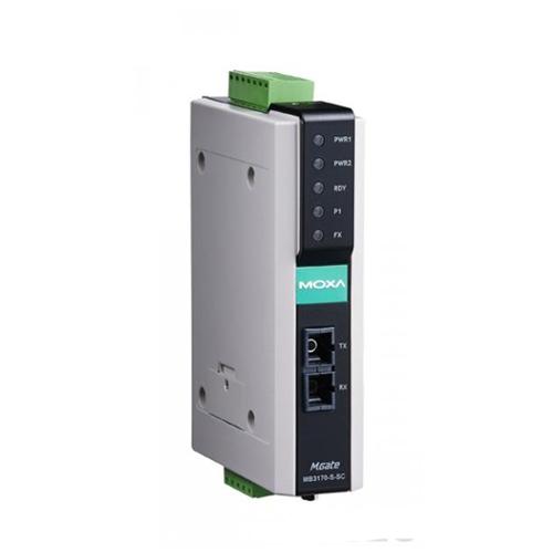 Moxa MGate MB3170-S-SC - Passerelle Modbus TCP vers Modbus RTU/ASCII