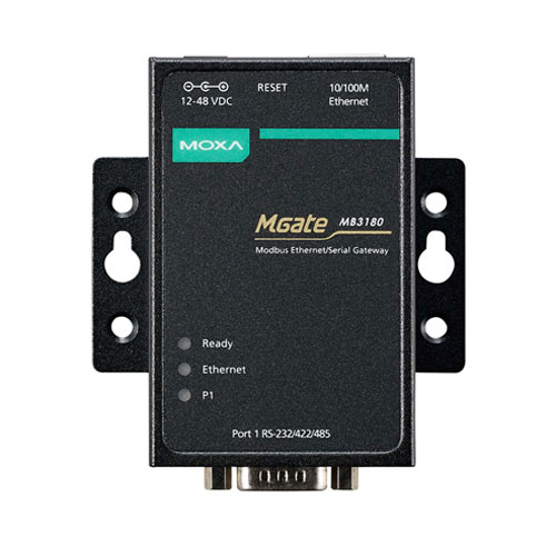 Moxa MGate MB3180 - Passerelle Modbus TCP vers Modbus RTU/ASCII