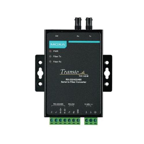Moxa TCF-142-M-ST - Convertisseur série vers fibre optique