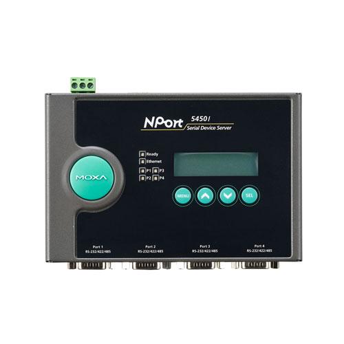 Moxa NPort 5450I - Serveur de périphériques série