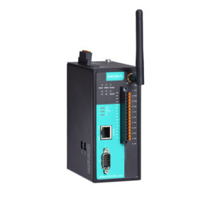 Moxa NPort IAW5150A-12I/O - Serveur de périphériques série sans fil