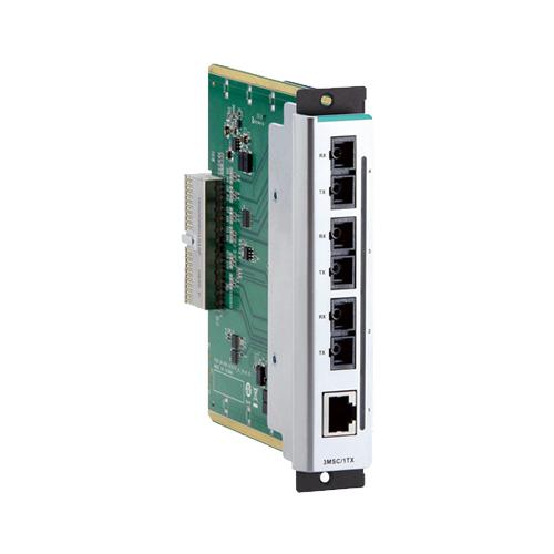 Moxa CM-600-3SSC/1TX - Module Fast Ethernet