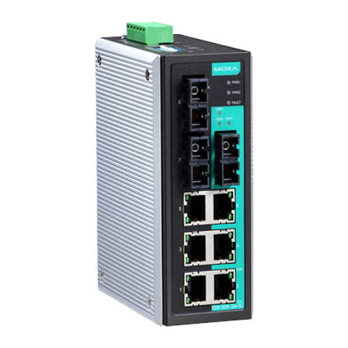 Moxa EDS-309-3M-SC - Switch Ethernet non manageable