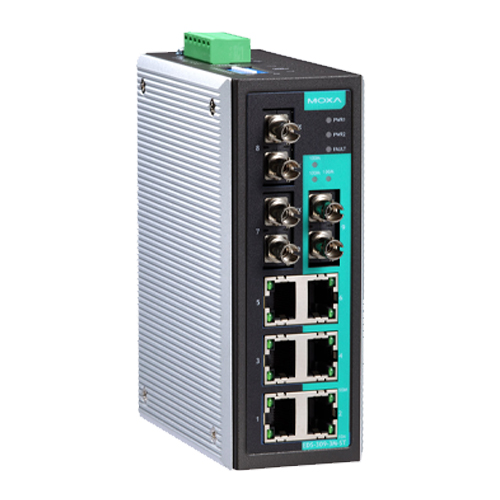 Moxa EDS-309-3M-ST - Switch Ethernet non manageable