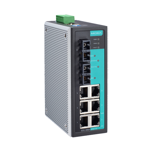 Moxa EDS-408A-SS-SC - Switch Ethernet manageable