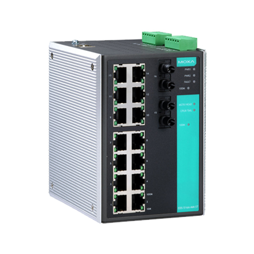 Moxa EDS-516A-MM-ST - Switch Ethernet manageable