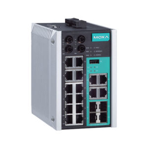 Moxa EDS-518E-MM-ST-4GTXSFP - Switch Ethernet manageable