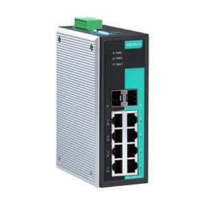 Moxa EDS-G308-2SFP - Switch Gigabit Ethernet non manageable