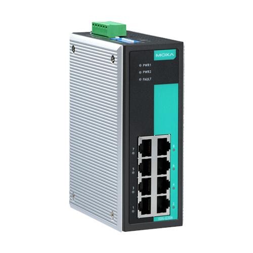 Moxa EDS-G308 - Switch Gigabit Ethernet non manageable