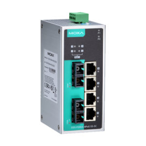 Moxa EDS-P206A-4PoE-SS-SC - Switch Ethernet non manageable
