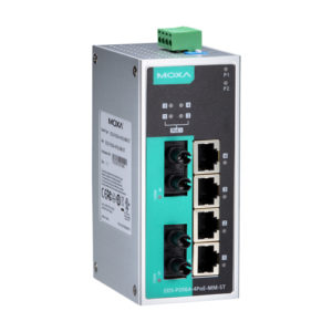 Moxa EDS-P206A-4PoE-MM-ST - Switch Ethernet non manageable