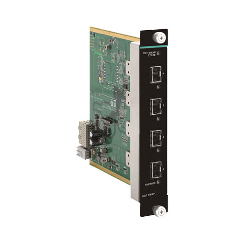 Moxa IM-G7000A-4GSFP - Module Gigabit Ethernet