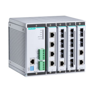 Moxa EDS-616 - Switch Ethernet modulaire manageable