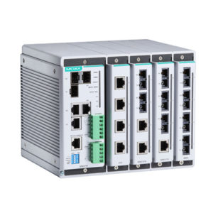 Moxa EDS-619 - Switch Ethernet modulaire manageable