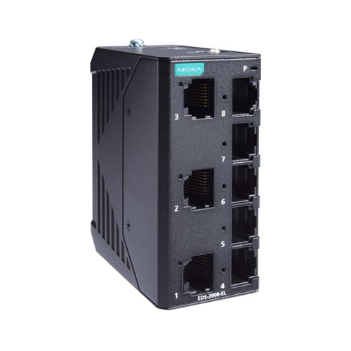 Moxa EDS-2008-EL - Switch Ethernet non manageable