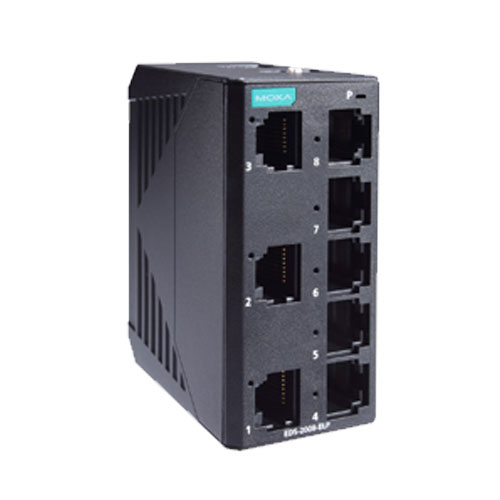 Moxa EDS-2008-ELP - Switch Ethernet non manageable