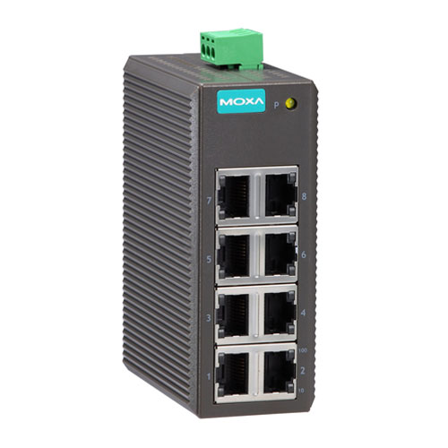 Moxa EDS-208 - Switch Ethernet non manageable