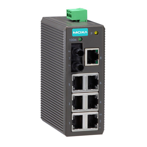 Moxa EDS-208-M-ST - Switch Ethernet non manageable