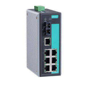 Moxa EDS-308-S-SC - Switch Ethernet non manageable