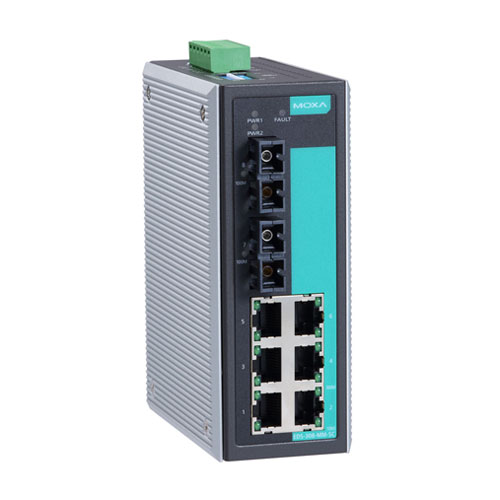 Moxa EDS-308-MM-SC - Switch Ethernet non manageable