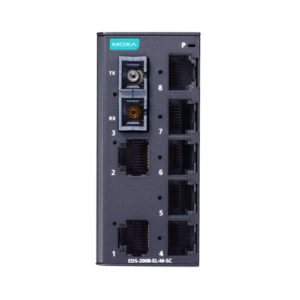 Moxa EDS-2008-EL-M-SC - Switch Ethernet non manageable