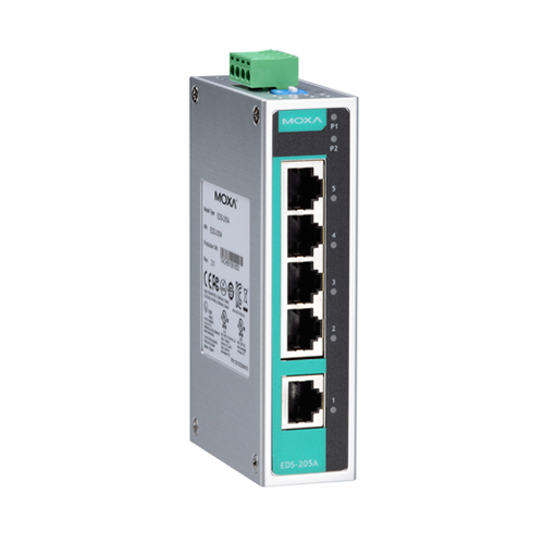Moxa EDS-205A - Switch Ethernet non manageable