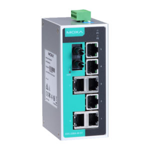 Moxa EDS-208A-M-ST - Switch Ethernet non manageable