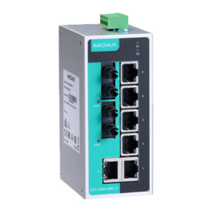 Moxa EDS-208A-MM-ST - Switch Ethernet non manageable