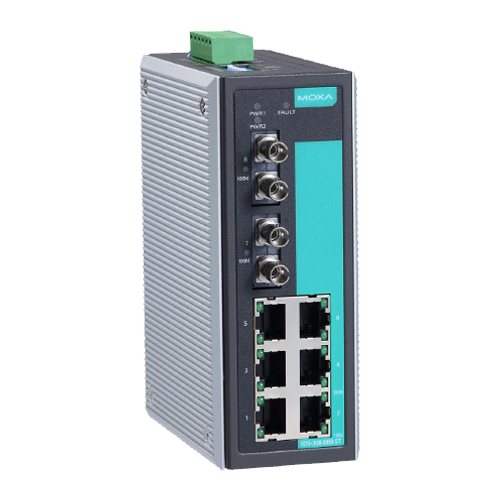 Moxa EDS-308-MM-ST - Switch Ethernet non manageable