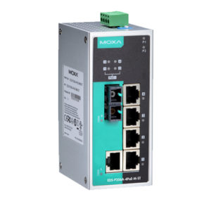 Moxa EDS-P206A-4PoE-S-SC - Switch Ethernet non manageable
