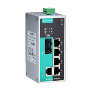 Moxa EDS-P206A-4PoE-M-ST - Switch Ethernet non manageable