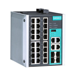 Moxa EDS-528E-4GTXSFP-HV - Switch Ethernet manageable