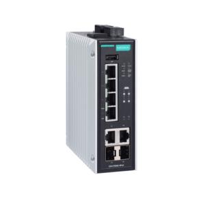 Moxa EDS-P506E-4PoE-2GTXSFP Switch PoE industriel