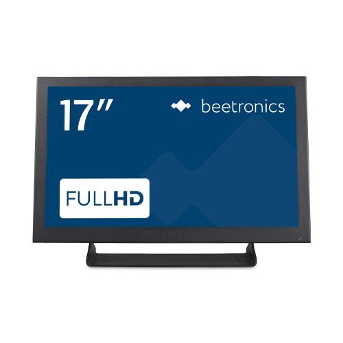 """Écran industriel Full HD 17"""" en métal"""