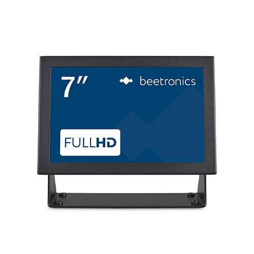 """Écran industriel Full HD 7"""" en métal"""