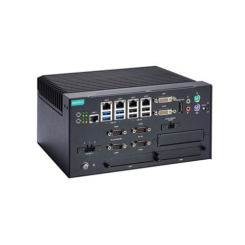 PC fanless industriel Moxa MC-7400